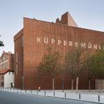 MKM Museum Küppersmühle von Herzog & de Meuron in Duisburg, Ansicht Philosophenweg