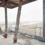 Der niederländische Pavillon auf dem EXPO-Gelände in Hannover im Jahr 2020