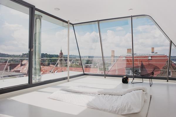 dachaufstockung in stuttgart. Black Bedroom Furniture Sets. Home Design Ideas