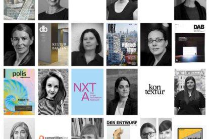 Architekturournalistinnen bei einer Gesprächsreihe vom Deutschen Werkbund Berlin