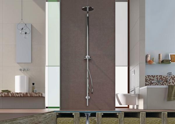 Bodenebene Dusche Fu?bodenheizung : Bodengleiche Dusche Aufbau : Bodengleiche Duschen liegen im Trend