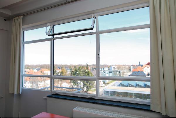 Energetische sanierung bauhausgeb ude dessau kologisch for Fenster 50x50 bauhaus