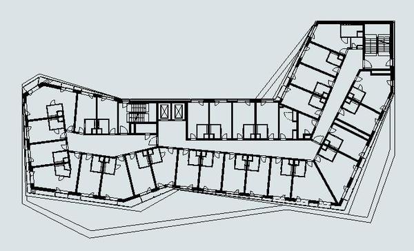 Grundriss Hotelfoyer : Das wälderhaus in hamburg der wald kommt die stadt