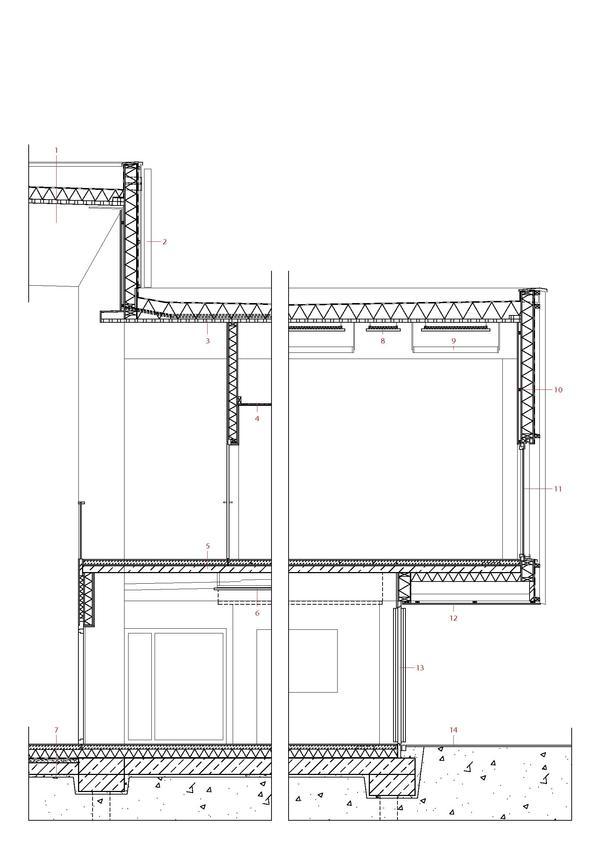 Holzrahmenbau wandaufbau detail  Sporthalle in Sargans (CH). Wirkungs-voll einfach %sepsitename%%