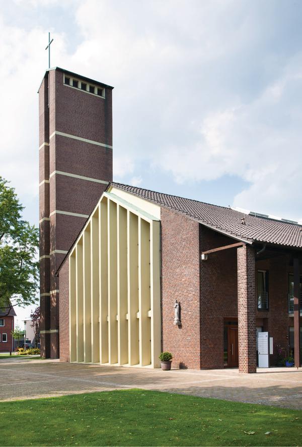 Architekten Recklinghausen kirchwohnungen königin in dülmen betten statt bänke db