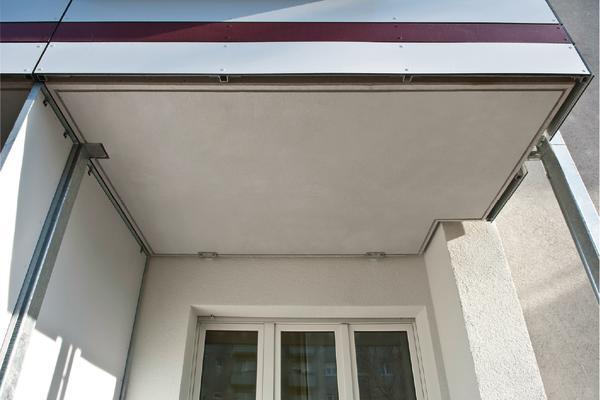 balkone im bestand nachr sten thermisch getrennt r umlich verbunden db deutsche bauzeitung. Black Bedroom Furniture Sets. Home Design Ideas
