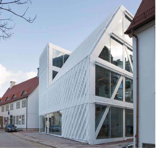 Holzhaus Garage moderne minimalistische Architektur
