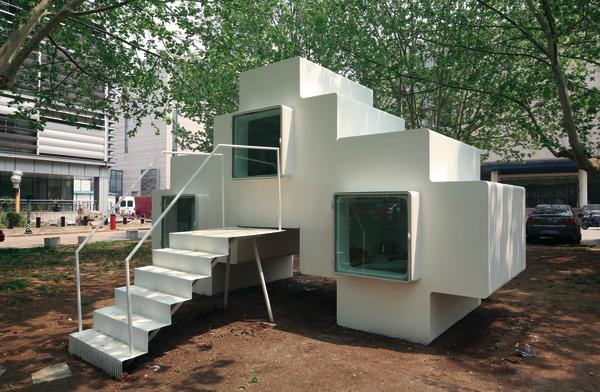 Mobiles Wohnen micro house in peking cn beweglichkeit und effizienz db