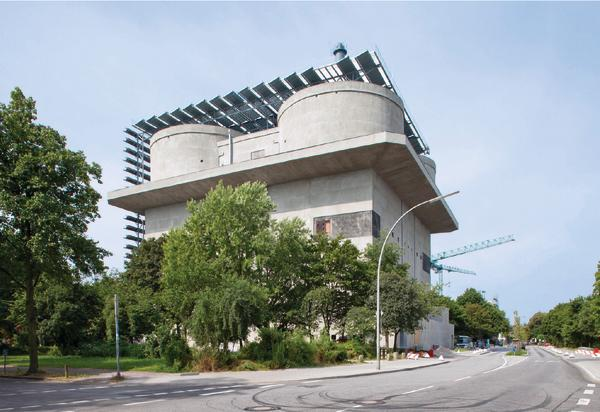 Energiebunker Hamburg-Wilhelmsburg