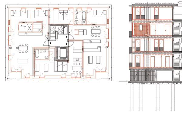 baustoffe f r selberbauer im geschosswohnungsbau hersteller fachbeitrag von xella deutschland. Black Bedroom Furniture Sets. Home Design Ideas
