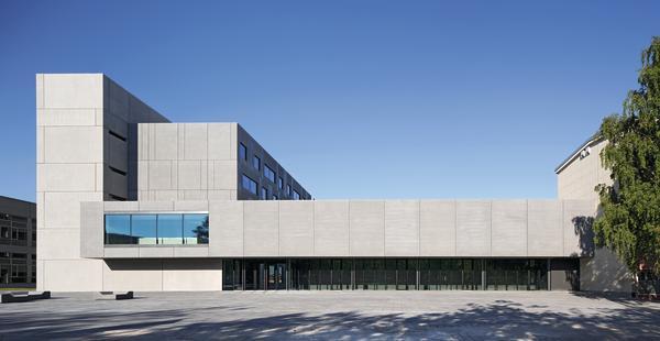 Architekt Chemnitz institutsgebäude chemnitz db deutsche bauzeitung