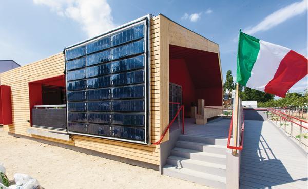Solar decathlon europe 2014 urban statt autark db deutsche bauzeitung