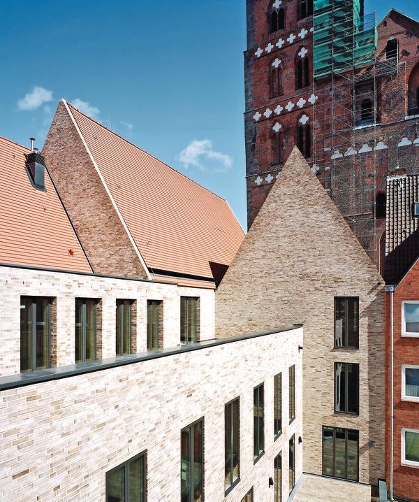 Gründerviertel Lübeck ulrich gabler haus neu in lübeck db deutsche bauzeitung