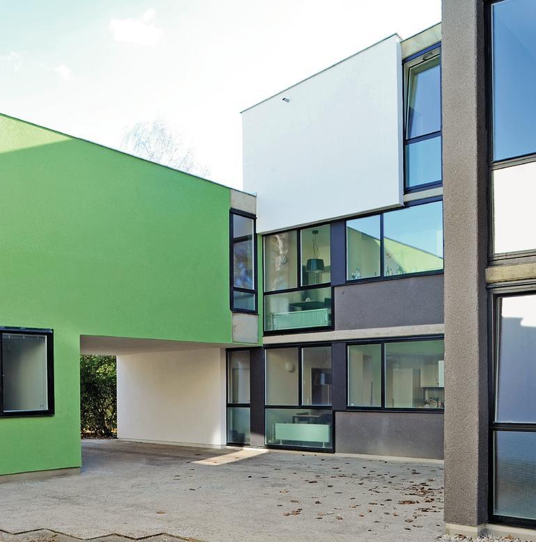 1957 59 1962 64 erweiterung 1976 78 studentendorf schlachtensee sepsitename. Black Bedroom Furniture Sets. Home Design Ideas