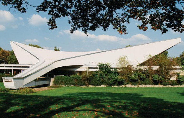Architekt Ludwigshafen 1962 65 friedrich ebert halle in ludwigshafen db deutsche bauzeitung