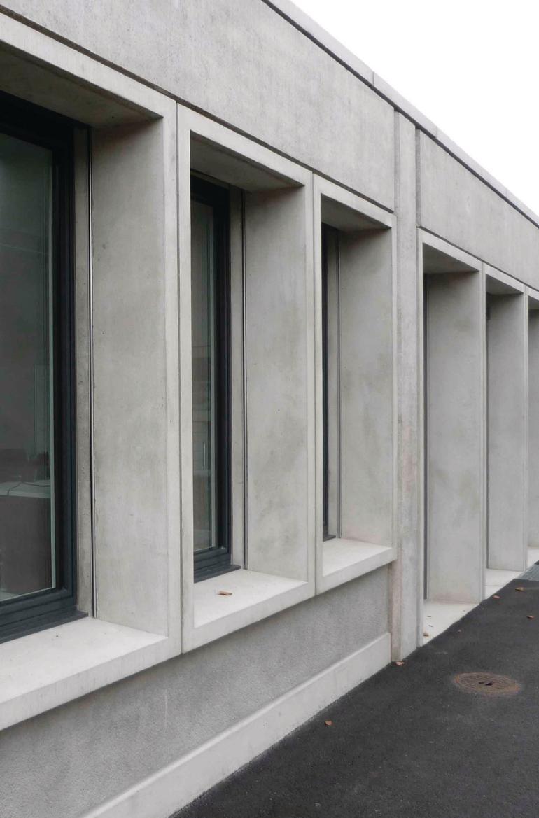 Beton im besonderen sanierung werkhof in glattbrugg ch lieblingsfarbe grau db deutsche - Beton innenwand ...