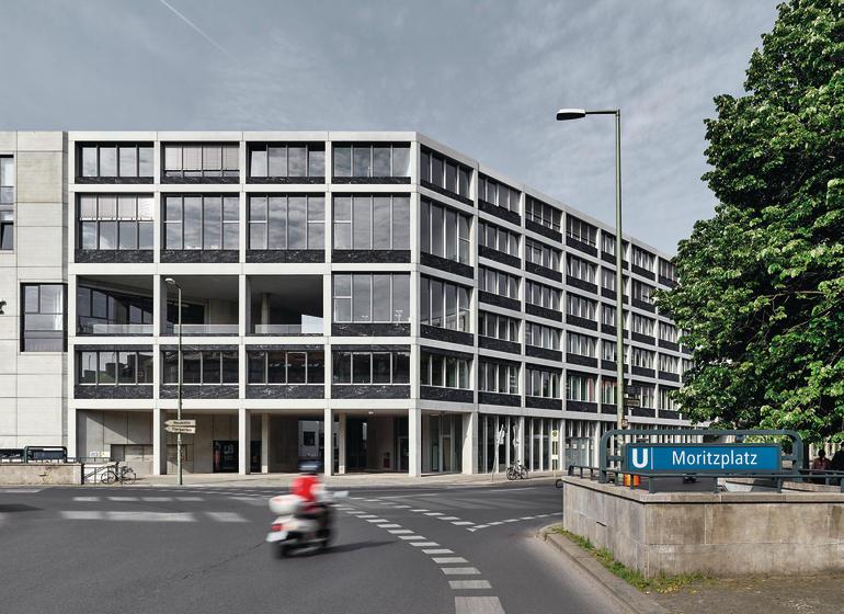 Aufbau Haus 84 Berlin Db Deutsche Bauzeitung