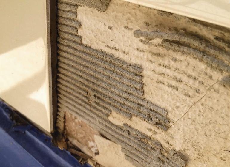 Asbesthaltige Fußbodenplatten ~ Vom umgang mit asbesthaltigen spachteln klebern und putzen