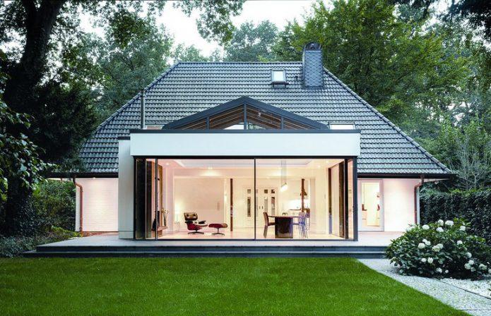 Anbau Altbau anbau wird zum lichtkanal helle villa im dunklen wald db deutsche