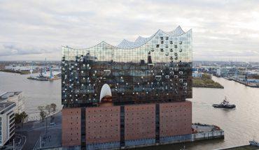 Glasfassade Elbphilharmonie