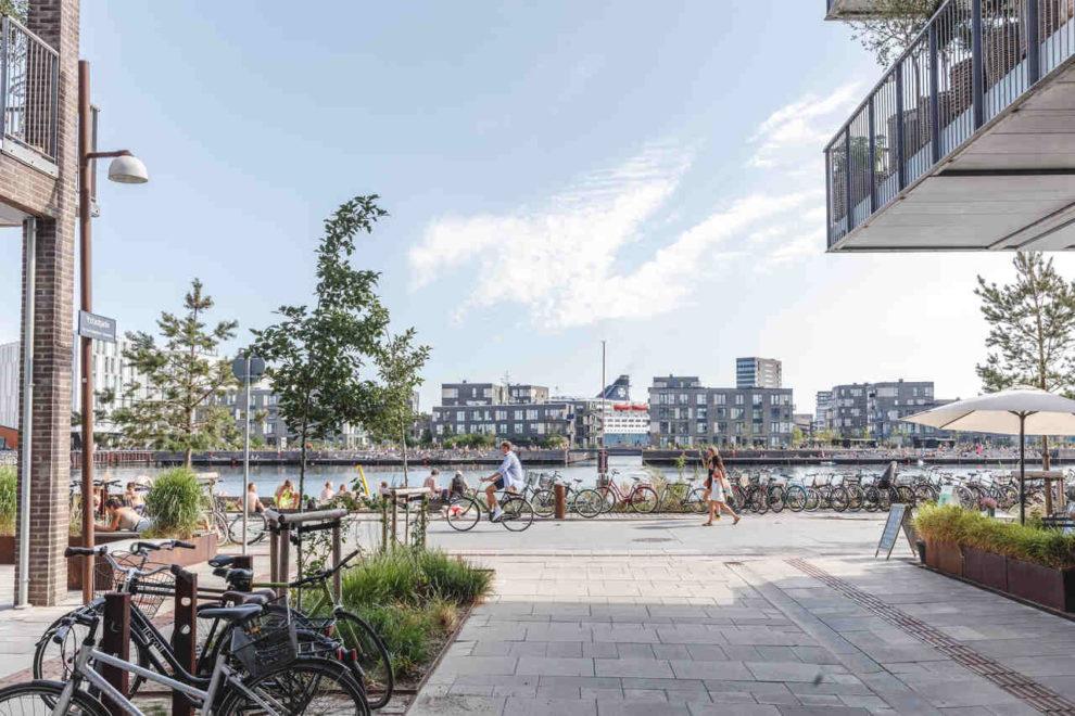 Stadtteil Nordhavn in Kopenhagen beim Brillux Architektenforum