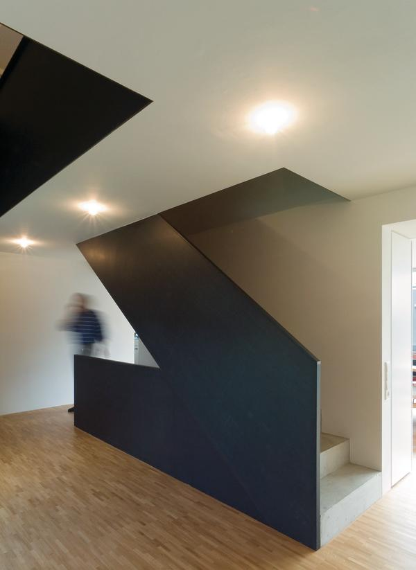wohnhaus maier in beutelsbach kleine aufgabe und grosse hoffnungen db deutsche bauzeitung. Black Bedroom Furniture Sets. Home Design Ideas