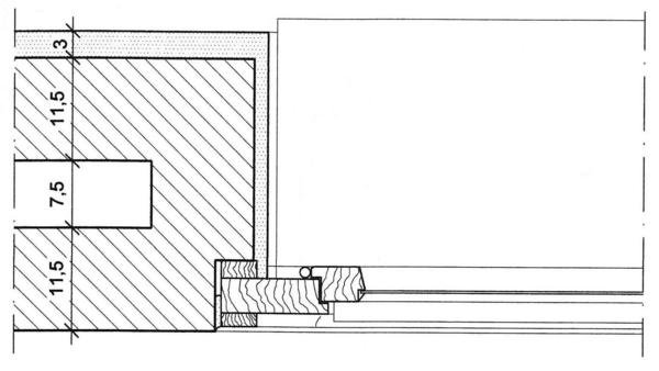 geb ude mit aussenoberfl chenb ndigen fenstern form. Black Bedroom Furniture Sets. Home Design Ideas