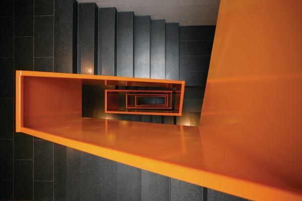 wohnsiedlung sch negg in littau ch farbige insel im. Black Bedroom Furniture Sets. Home Design Ideas