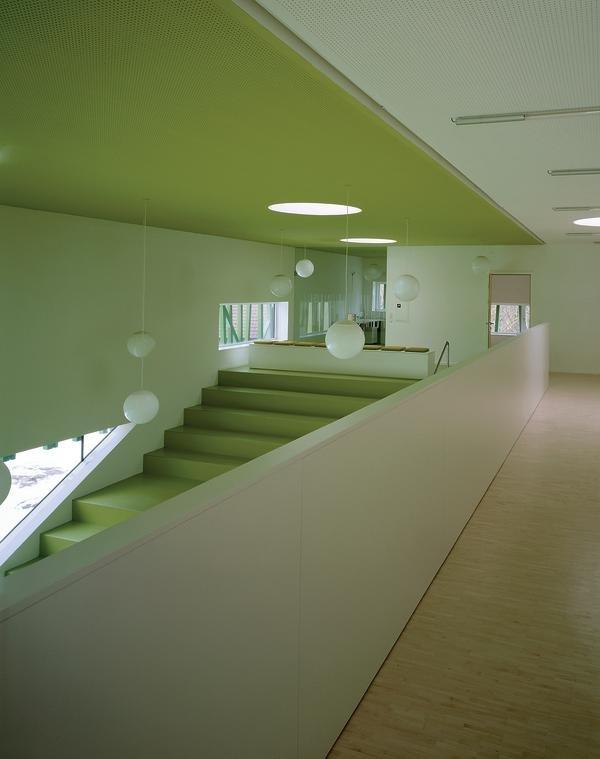 kindergarten in sighartstein neumarkt a krabbelstube db deutsche bauzeitung. Black Bedroom Furniture Sets. Home Design Ideas