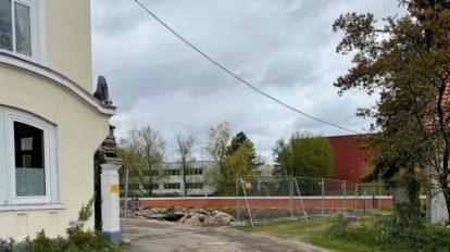 historisches Baudenkmal in Celle abgerissen