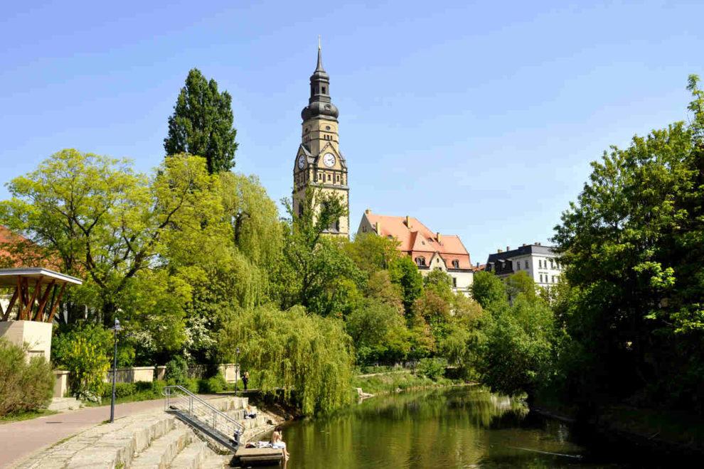 Philippuskirche in Leipzig mit Umnutzung zum Inklusionshotel