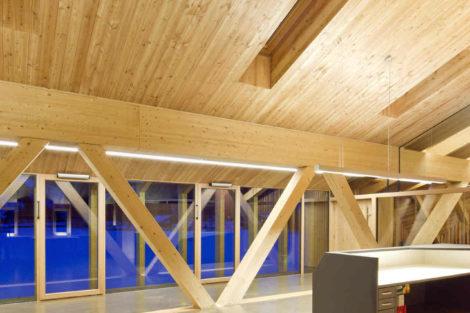 Bürogebäude als Holzbau