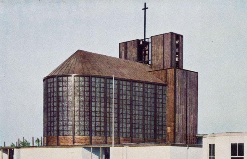 Stahlkirche, Köln, Otto Bartning