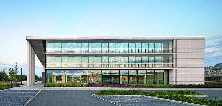 Solarlux Melle neubau der firmenzentrale und produktionsstätte solarlux cus in