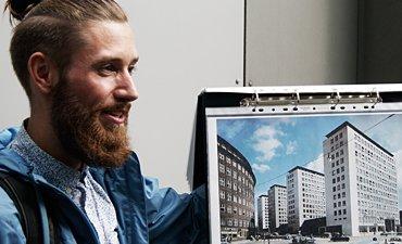 Die von Marco Alexander Hosemann gegründete Initiative City-Hof will das Hamburger Baudenkmal erhalten.