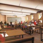 Aula der Sekundarschule Naaba Belem Goumma, Kéré Architecture