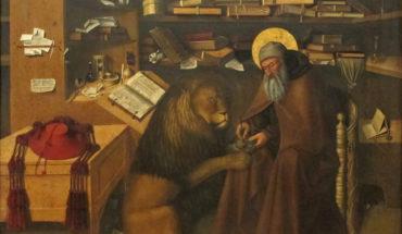 Colantonio, Hieronymus im Gehäus