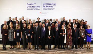 europäische Kulturministerkonferenz – Davos Declaration »Towards a high-quality Baukultur for Europe«