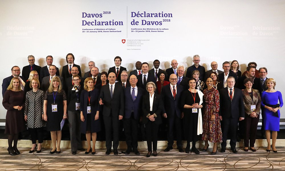 europäische Kulturministerkonferenz – Davos Declaration »Towards a high-quality Baukultur for Europe«