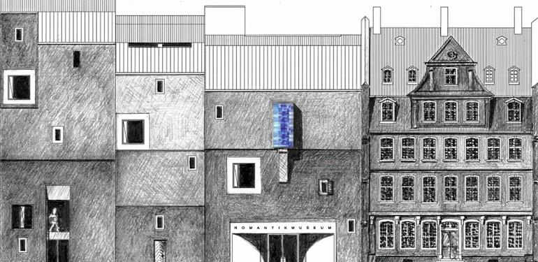 Planungsgemeinschaft Goethehöfe - Deutsches Romantik-Museum  Landes & Partner / Christoph Mäckler Architekten