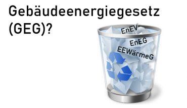 Gebäude-Energiegesetz