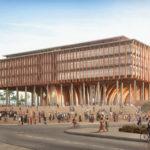 Benin National Assembly, Kéré Architecture, gezeigt im Aedes Architekturforum