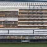 Holstenfleet in Kiel mit Kebony-Holz