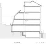 Schnitt des Gaslight Building London