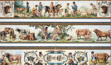 Mettlacher Platten gehören zur Geschichte der Fliese