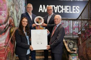 Berliner Stadtquartier Am Tacheles in Berlin mit ECARF-Siegel zertifiziert
