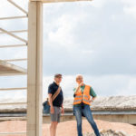Muster-Pavillon aus Recycling-Beton