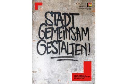 Cover der Publikation »Stadt gemeinsam gestalten!« über Koproduktion im Quartier
