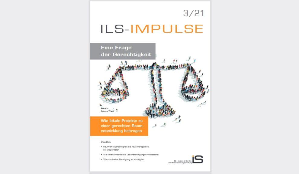 Cover von ILS-Impulse zum Thema gerechte Raumentwicklung