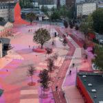 Superkilen - ein farbenfroher und unkonventioneller öffentlicher Park in Kopenhagen
